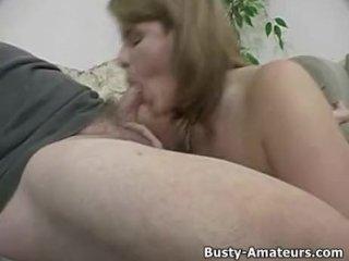 Busty Lisa on hot POV