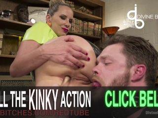 New Slave Takes Dominatrix Beating