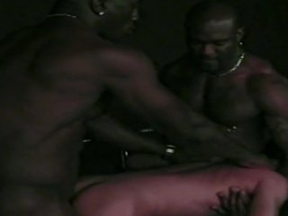 Hot White Gay Anal Fucked By Two Muscular Ghe