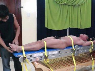 Tickling Gay Asian Twink Lorenzo