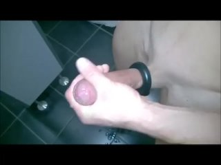 Handsfree Cum After Fleshlightjack Fun At Uni