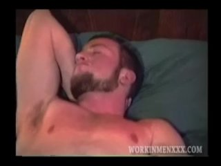 Mature Amateur Joe Strokes One Out