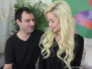 Elsa Jean Loves to Watch Her Husband Swallow