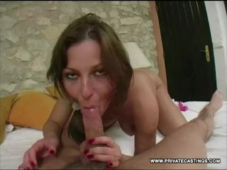 Love's Perky Tits Bounce in Her Casting