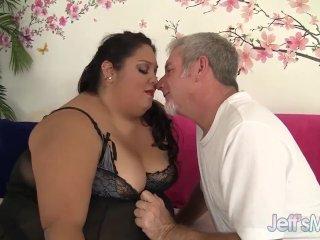 Fatty Latina Lorelai Givemore takes a fat dic