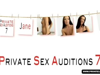 Jane Has Her First Porn Audition in Private C