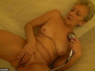 OldNanny Lesbian granny and nice woman mastur