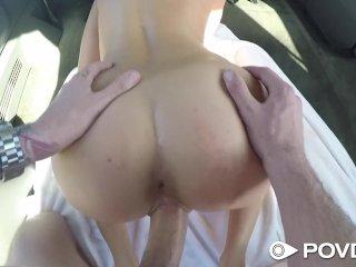 POVD – Hot hitchhiker Ashley Adams fucked