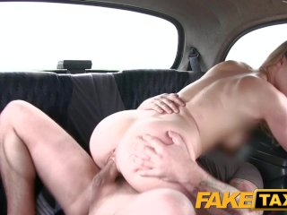 Fake Taxi Cute blonde takes on big cock