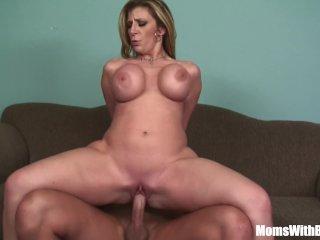 MILF Blonde Sarah Jay Soft Massive Tits Fucke