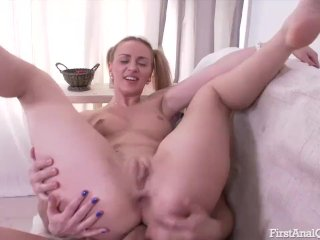 Hardcore Anal Sex action featuring lusty Oliv