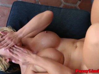 Cock hungry slut facefucked rough