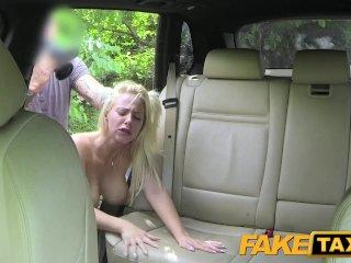 Fake Taxi Big tits and great curvy body sucks