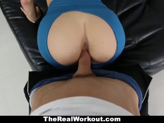 TheRealWorkout – Busty Crystal Fucked After Her Workout