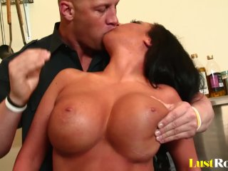 Arousing titty-fuck by the busty Richelle Ryan
