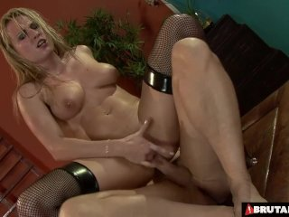 BrutalClips  Rough Throat and Anal Fucking