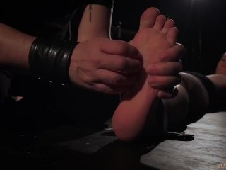 Exhausting bondage fuck for a busty slave