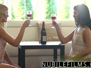 NubileFilms – Lesbians cum harder