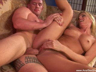 Natural Tits Extreme Anal Blonde