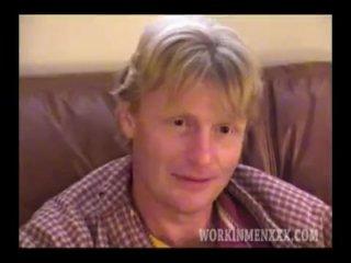 Homemade Video of Mature Amateur James Jerking Off