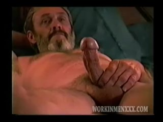 Homemade Video of Mature Amateur Jim Jacking Off