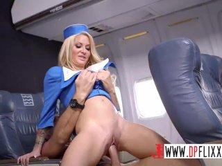 Digital Playground- Horny Stewardess Joins The Mile High Club