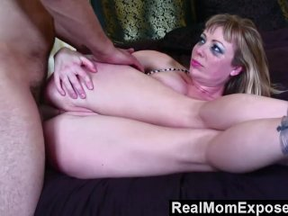 RealMomExposed  Hot tattoo mom gets fucked