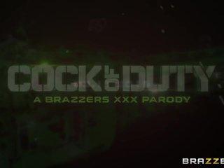 Cock of Duty (A XXX Parody) – Brazzers