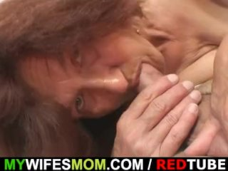Wife gets mad when finds him fucking her mom