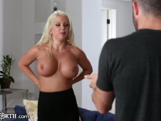 New Stepmom is Slutty and Has Huge Tits