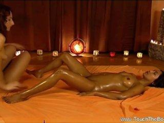 Massage Between Intimate Females