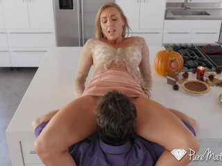 PureMature – Hot and horny house wife Kate Linn fucks her husband's friend