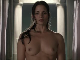 Lucy Lawless Nude Boobs Scene In Spartacus