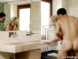 Intense Anal Education For Blonde MILF