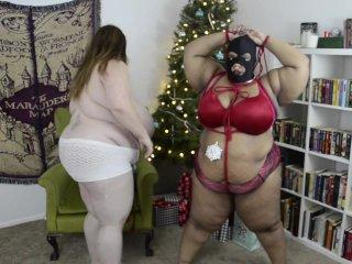 Busty Ebony Slave Submits to Mistress Lexxxi Luxe