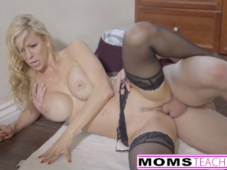 Lucky step-Son Fucks Step-Mom Alexis Fawx Then Teen Lily Rader