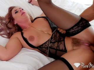 PureMature – Big breasted Phoenix Marie slobbers all over cock
