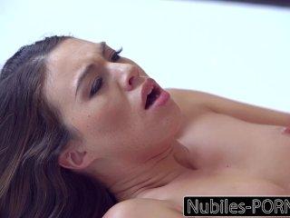Nubiles-Porn Sexy Brunettes Intense Orgasm