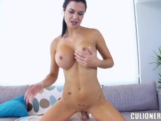 Horny European Chick With Big Tits and Big Ass Named Jasmin Jae