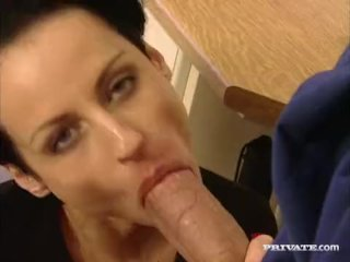 Private com – Michelle Wild in an orgy with DP