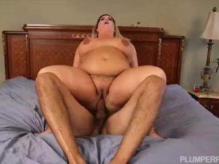 Busty Blonde MILF Kristin Kervz