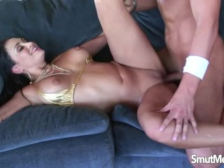 Hot MILF giving up pussy