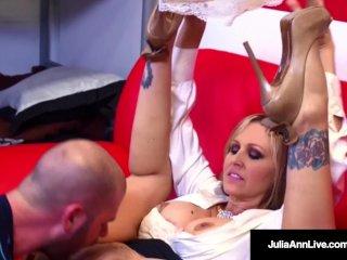 Julia Ann is a HOT Tutor who sucks & fucks a student silly!