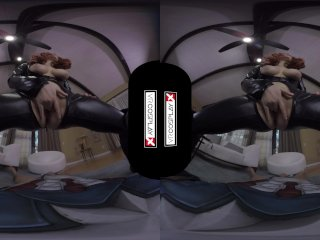 Avengers XXX VR porn Black Widow's Big Tits Take a HUGE COCK VRCosplayX com