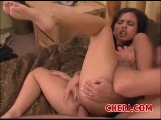Shy Love Long Legs Gets Anal Fucked