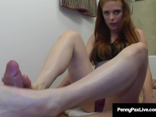 Step Brother, Alex Legend, Gets FootJob From Sis, Penny Pax!