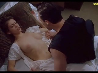 Alyssa Milano Nude Boobs And Sex In Embrace of the Vampire ScandalPlanetCom