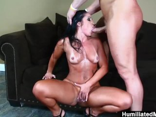 HumiliatedMilfs – She makes this stud rock hard for an anal fuck.