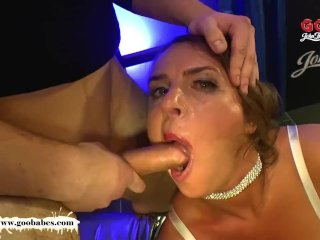Super Busty MILF Sexy Susi gets her massive tits Creamed – GGG