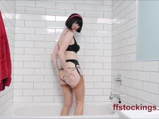 Mature's lingerie show